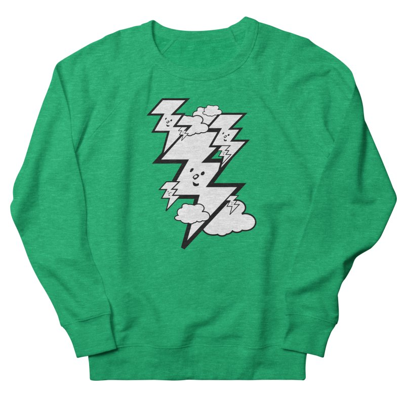 Good Luck Bolt Strike Women's Sweatshirt by Vinnie Ray's Apparel Shop