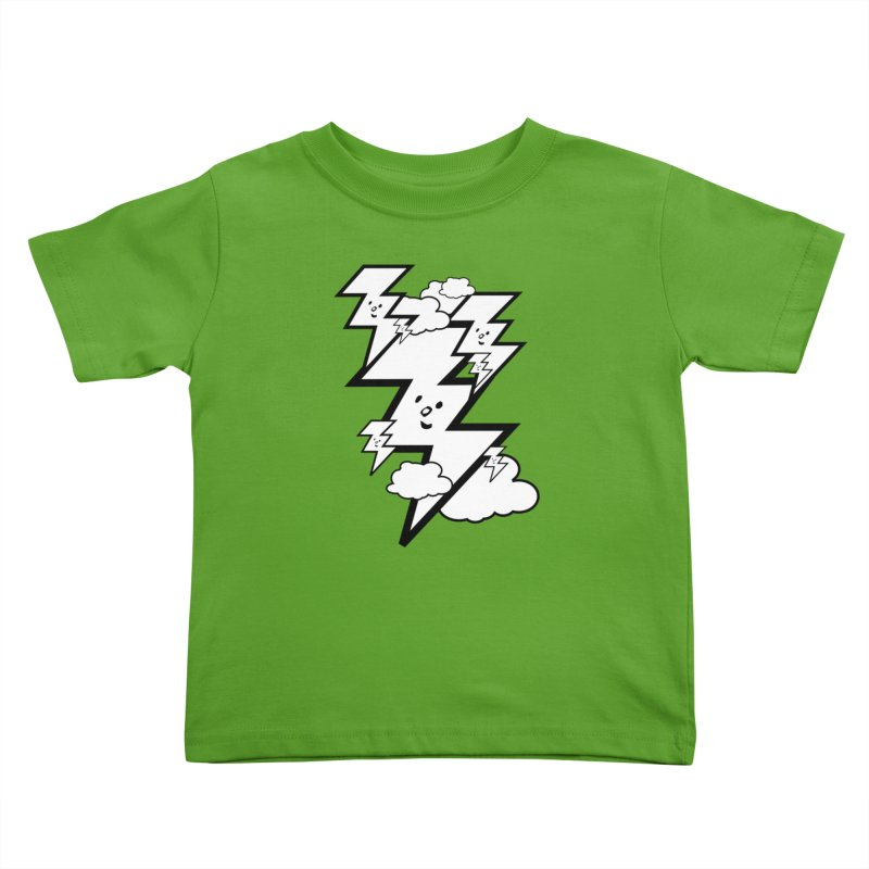 Good Luck Bolt Strike Kids Toddler T-Shirt by Vinnie Ray's Apparel Shop
