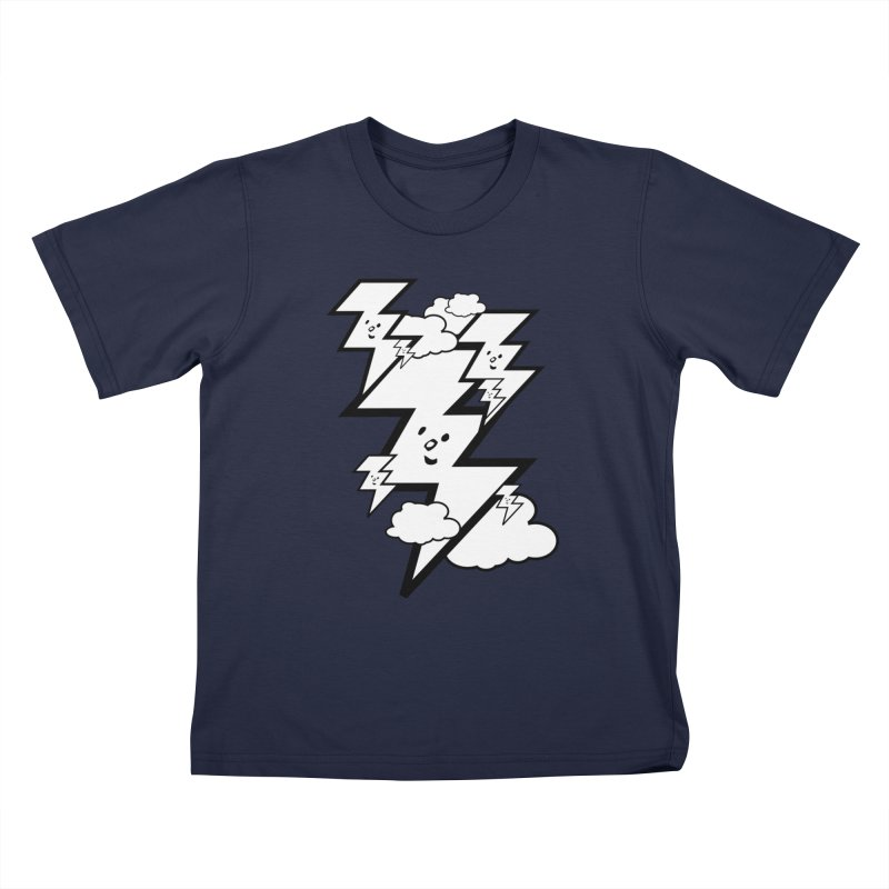 Good Luck Bolt Strike Kids T-Shirt by Vinnie Ray's Apparel Shop
