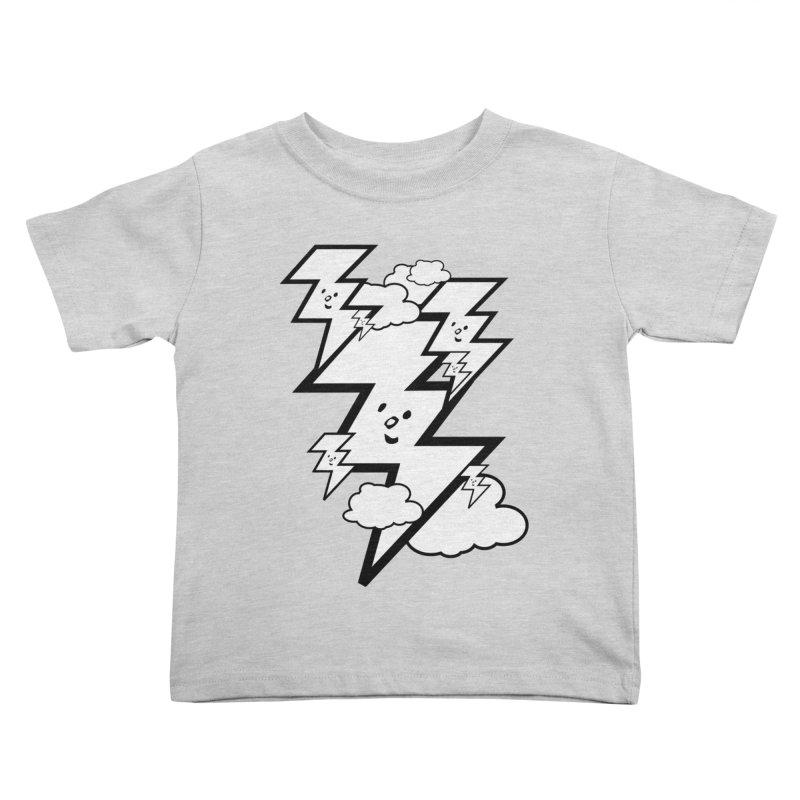 Good Luck Bolt Strike Kids Toddler T-Shirt by Vinnie Ray's Apparel Shop