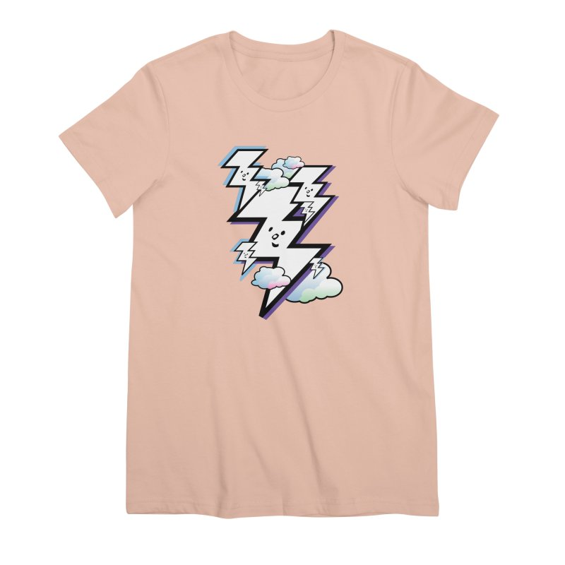 Good Luck Bolt Strike Women's T-Shirt by Vinnie Ray's Apparel Shop