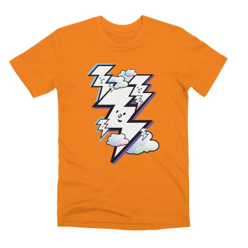 Good Luck Bolt Strike Men's T-Shirt by Vinnie Ray's Apparel Shop