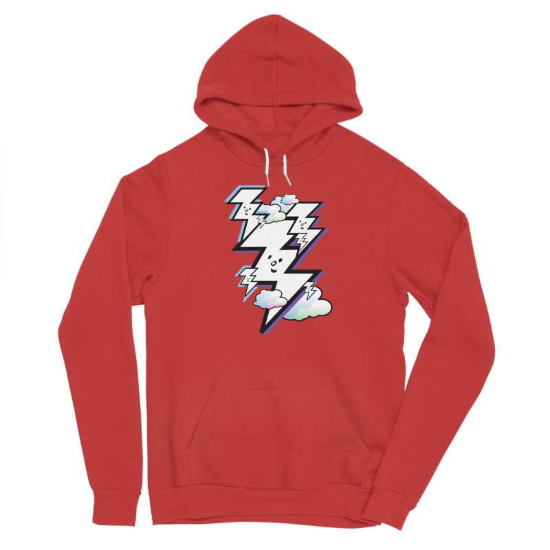 Good Luck Bolt Strike Men's Pullover Hoody by Vinnie Ray's Apparel Shop