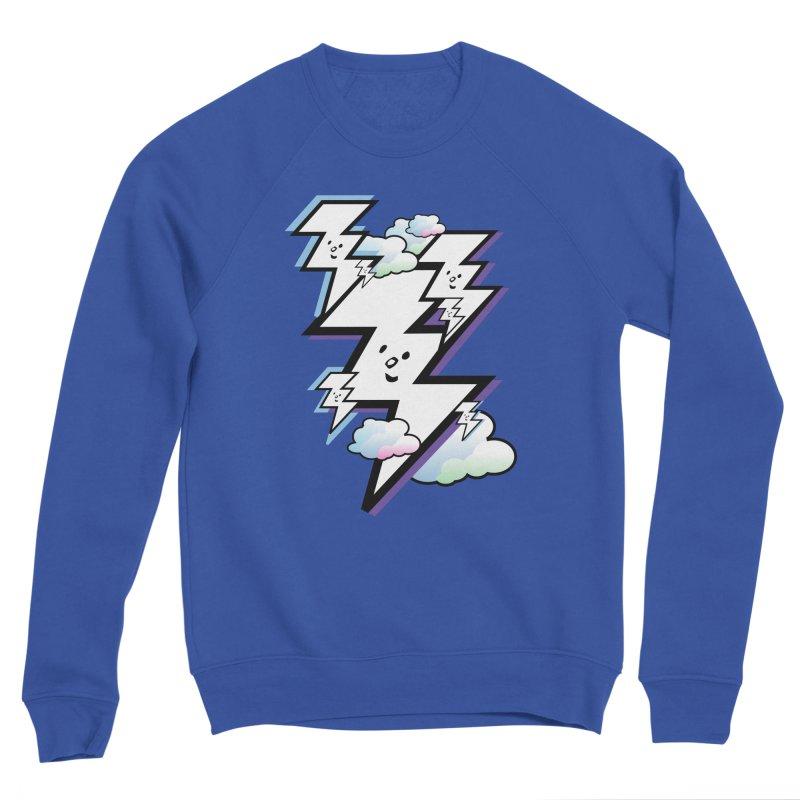 Good Luck Bolt Strike Men's Sweatshirt by Vinnie Ray's Apparel Shop
