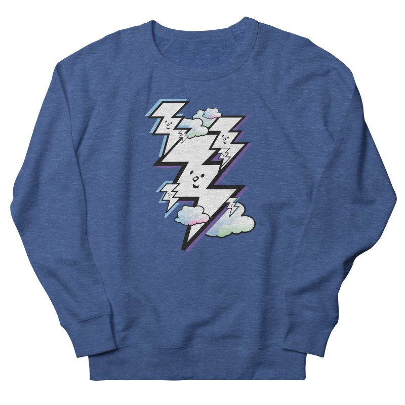 Good Luck Bolt Strike Men's Sweatshirt by Vinnie Ray's Apparel Shop