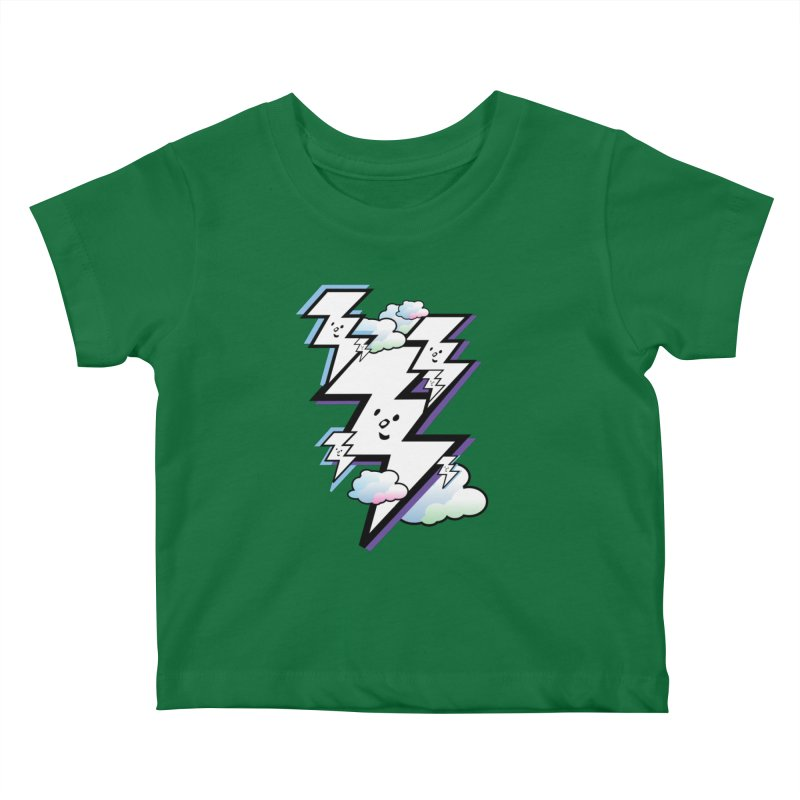 Good Luck Bolt Strike Kids Baby T-Shirt by Vinnie Ray's Apparel Shop