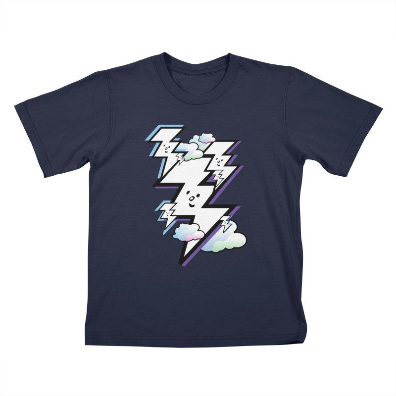 Good Luck Bolt Strike Kids T-Shirt by Vinnie Ray's Apparel Shop