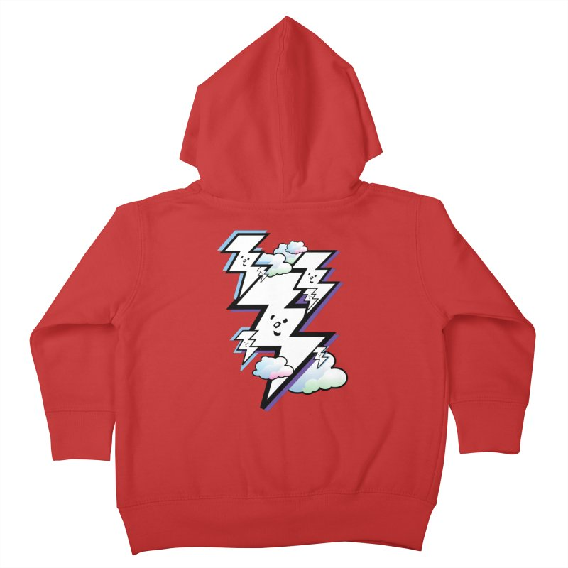 Good Luck Bolt Strike Kids Toddler Zip-Up Hoody by Vinnie Ray's Apparel Shop