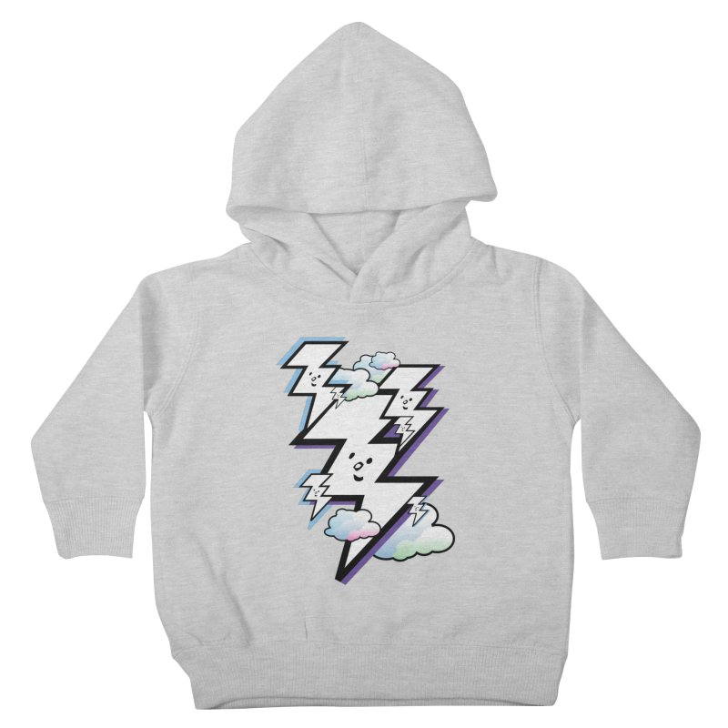 Good Luck Bolt Strike Kids Toddler Pullover Hoody by Vinnie Ray's Apparel Shop