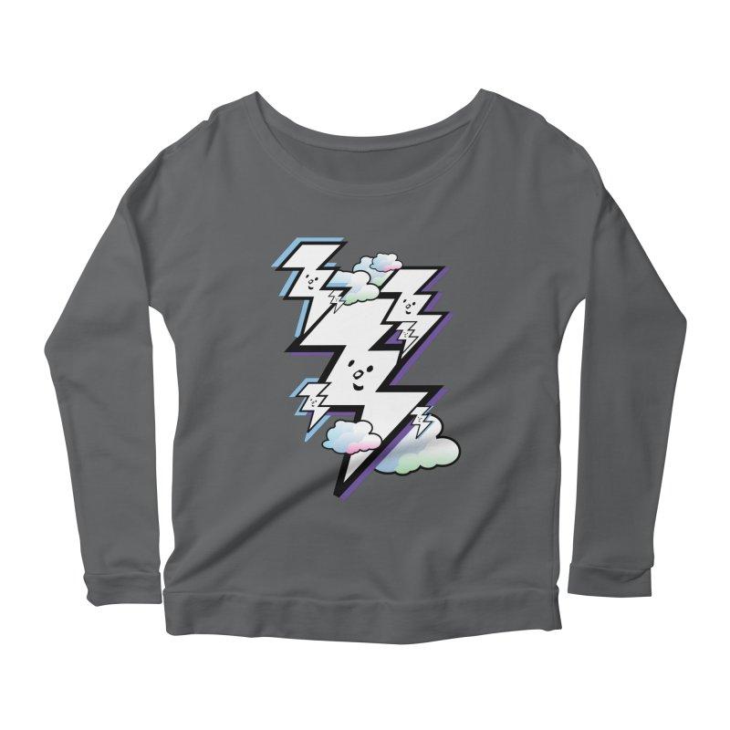 Good Luck Bolt Strike Women's Longsleeve T-Shirt by Vinnie Ray's Apparel Shop