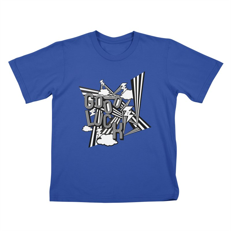 Good Luck Energy Field Kids T-Shirt by Vinnie Ray's Apparel Shop