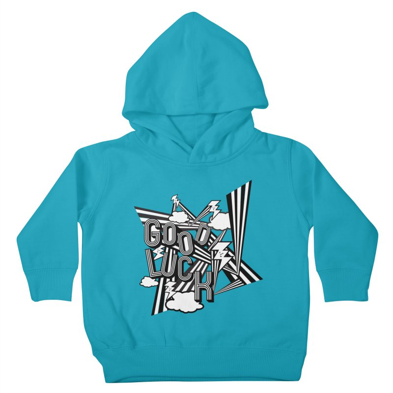 Good Luck Energy Field Kids Toddler Pullover Hoody by Vinnie Ray's Apparel Shop