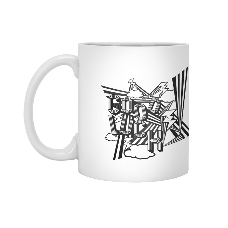 Good Luck Energy Field Accessories Mug by Vinnie Ray's Apparel Shop