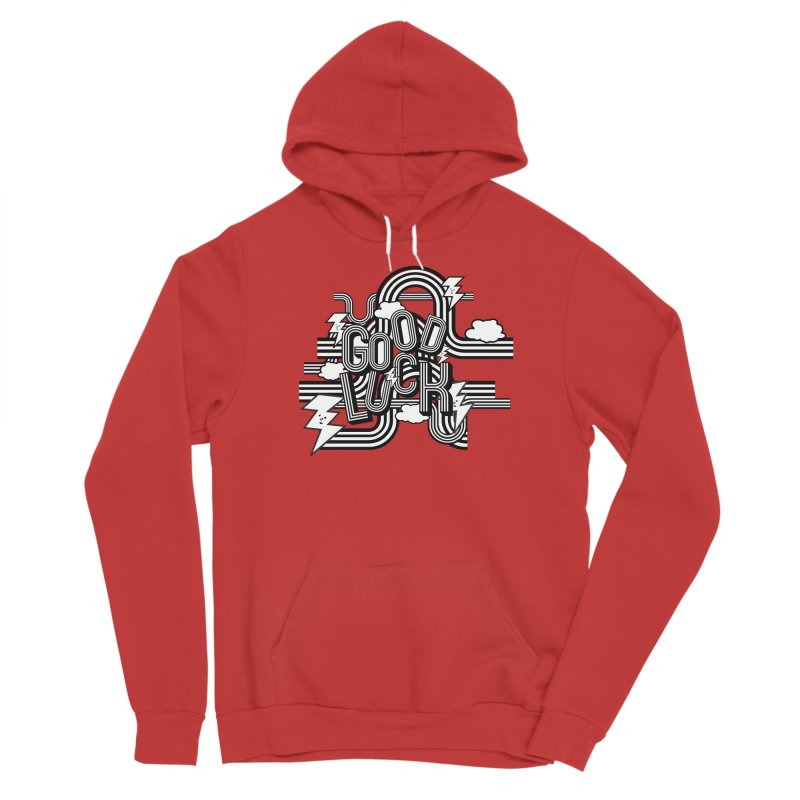 Good Luck Energy Field Men's Pullover Hoody by Vinnie Ray's Apparel Shop