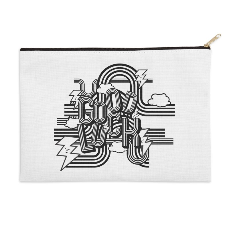 Good Luck Energy Field Accessories Zip Pouch by Vinnie Ray's Apparel Shop