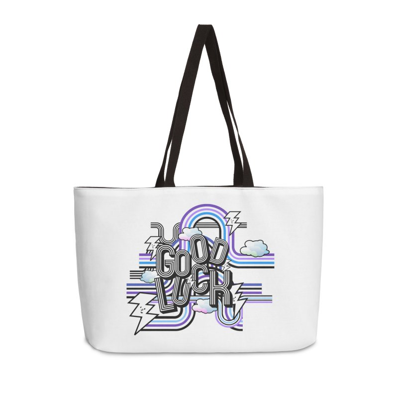 Good Luck Energy Field Accessories Bag by Vinnie Ray's Apparel Shop