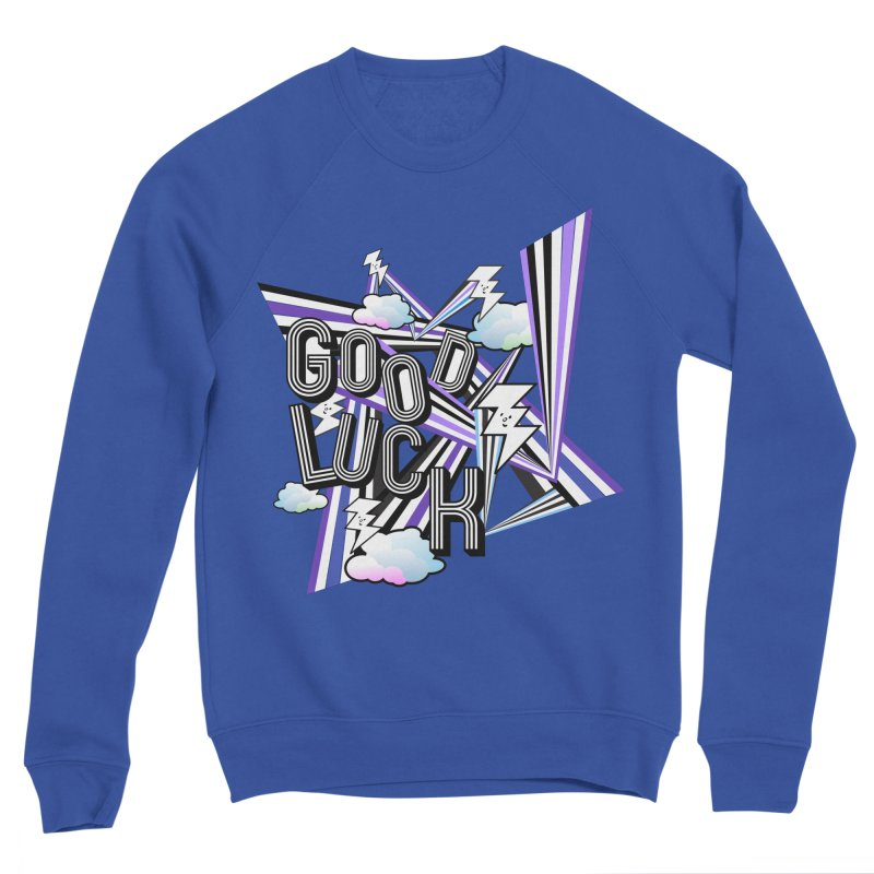 Good Luck Energy Field Women's Sweatshirt by Vinnie Ray's Apparel Shop