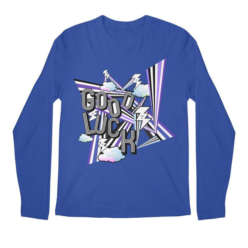Good Luck Energy Field Men's Longsleeve T-Shirt by Vinnie Ray's Apparel Shop