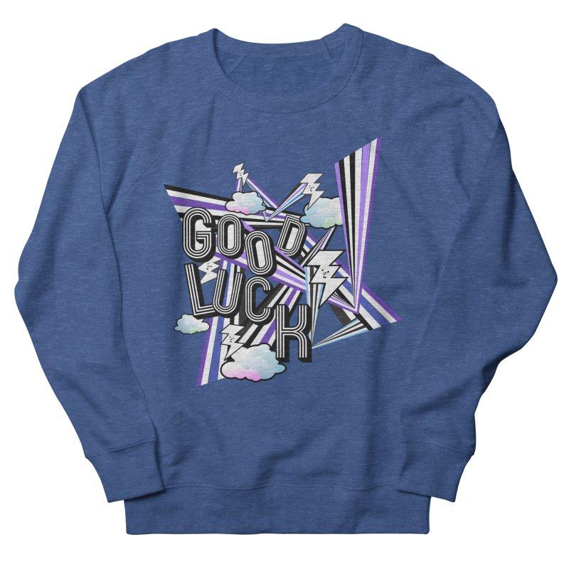 Good Luck Energy Field Men's Sweatshirt by Vinnie Ray's Apparel Shop