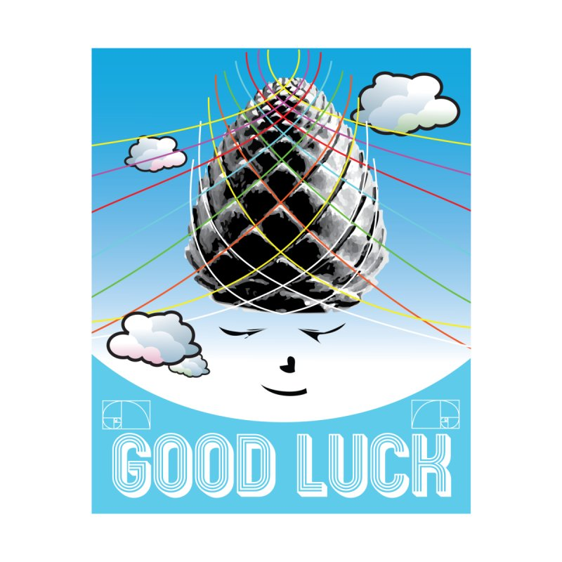 Good Luck Pinecone 1 Accessories Sticker by Vinnie Ray's Apparel Shop
