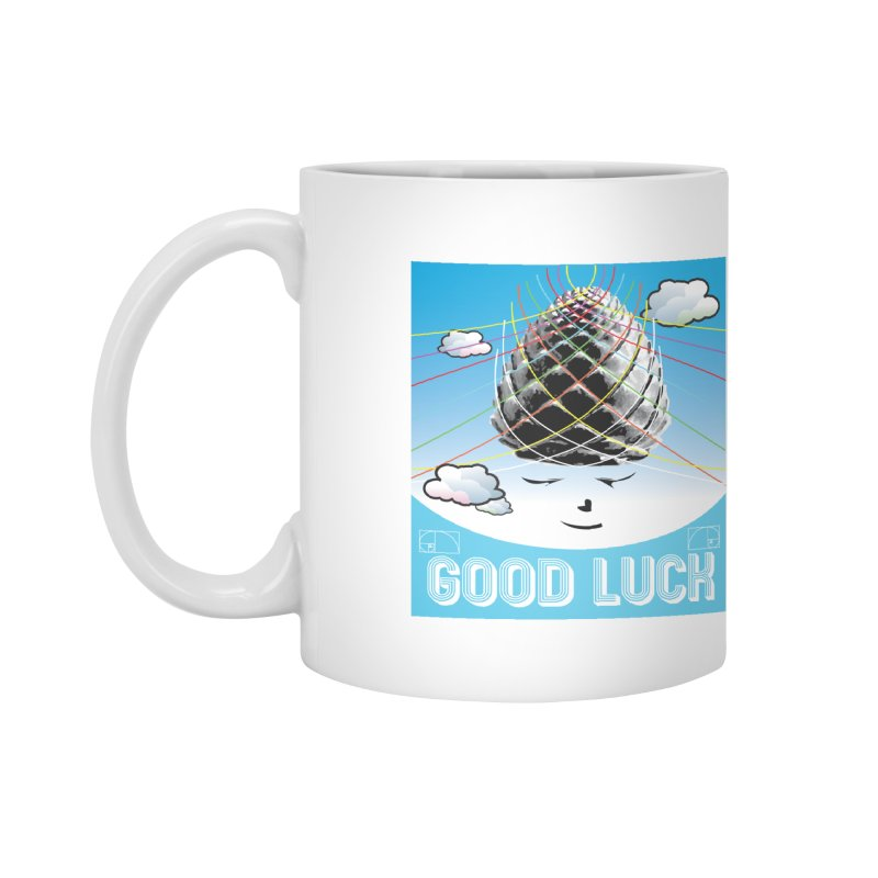 Good Luck Pinecone 1 Accessories Mug by Vinnie Ray's Apparel Shop