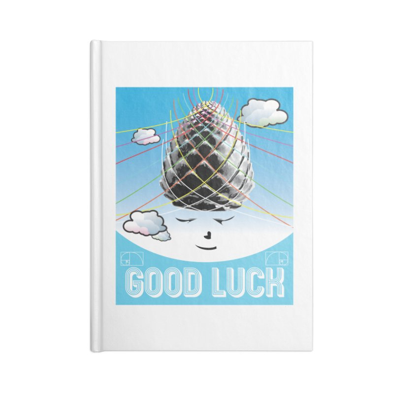 Good Luck Pinecone 1 Accessories Notebook by Vinnie Ray's Apparel Shop