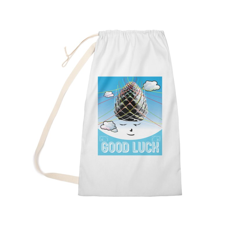 Good Luck Pinecone 1 Accessories Bag by Vinnie Ray's Apparel Shop