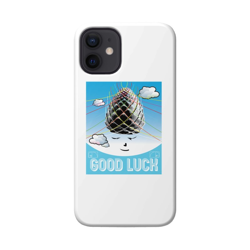 Good Luck Pinecone 1 Accessories Phone Case by Vinnie Ray's Apparel Shop