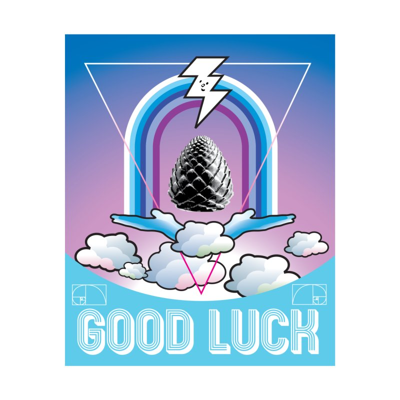 Good Luck Pinecone 2 Accessories Mug by Vinnie Ray's Apparel Shop