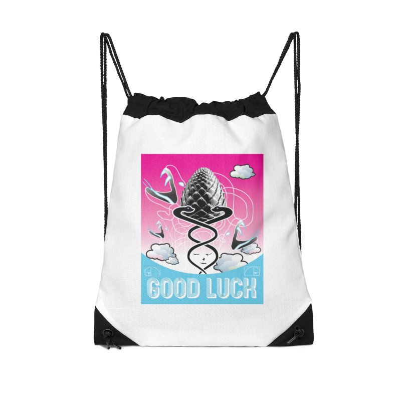 Good Luck Pinecone 3 Accessories Bag by Vinnie Ray's Apparel Shop