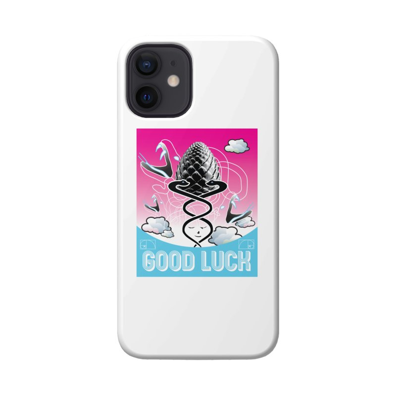 Good Luck Pinecone 3 Accessories Phone Case by Vinnie Ray's Apparel Shop