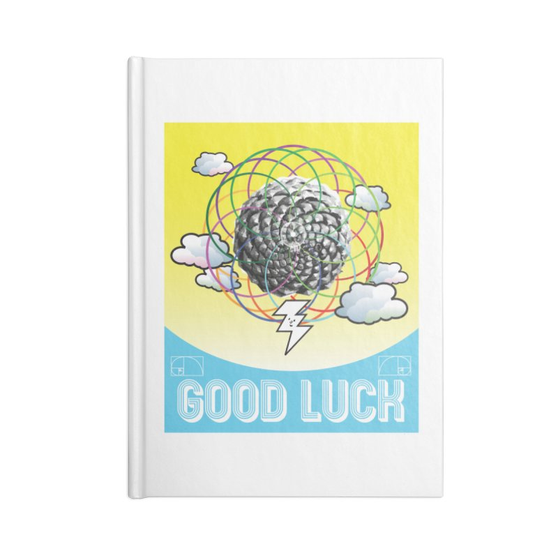 Good Luck Pinecone 4 Accessories Notebook by Vinnie Ray's Apparel Shop