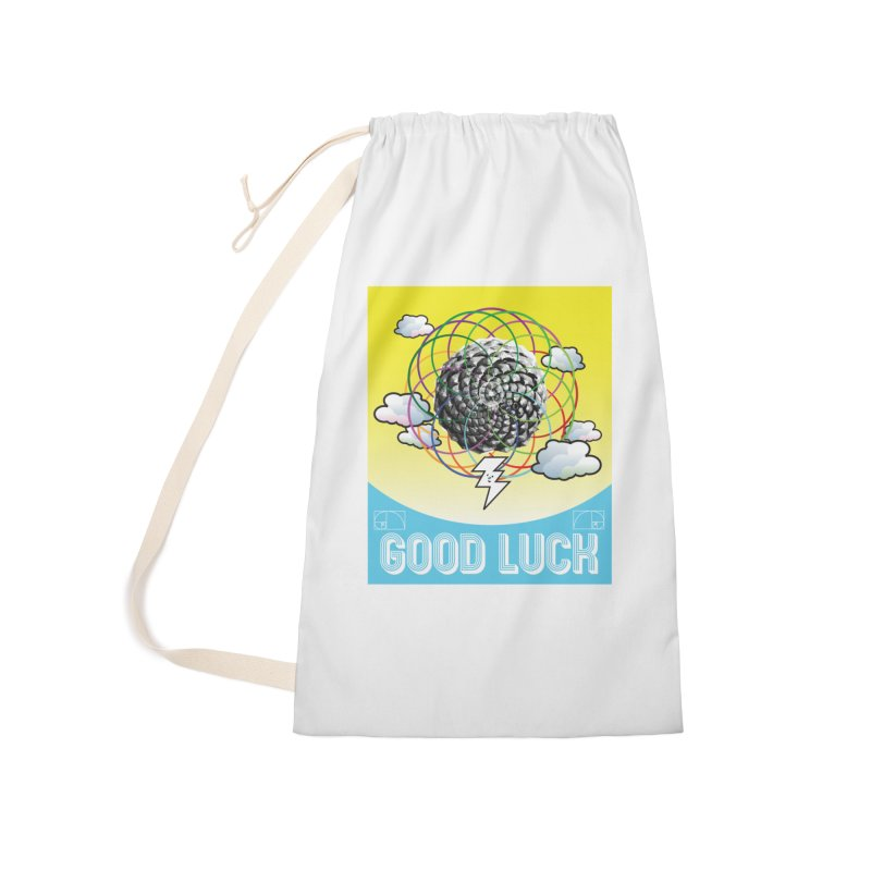 Good Luck Pinecone 4 Accessories Bag by Vinnie Ray's Apparel Shop