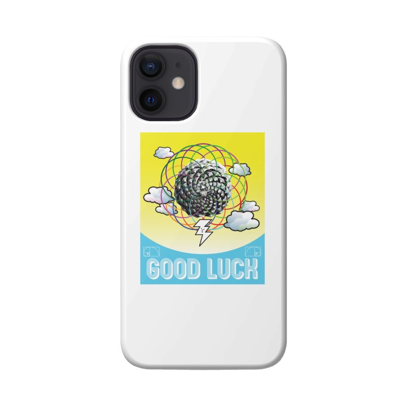 Good Luck Pinecone 4 Accessories Phone Case by Vinnie Ray's Apparel Shop