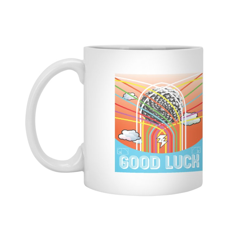 Good Luck Pinecone 5 Accessories Mug by Vinnie Ray's Apparel Shop