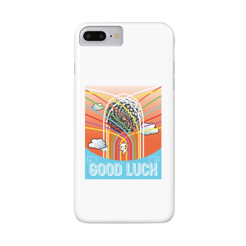Good Luck Pinecone 5 Accessories Phone Case by Vinnie Ray's Apparel Shop