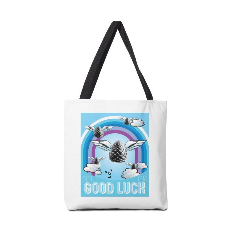 Good Luck Pinecone 6 Accessories Bag by Vinnie Ray's Apparel Shop