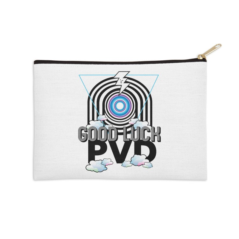 Good Luck PVD Accessories Zip Pouch by Vinnie Ray's Apparel Shop