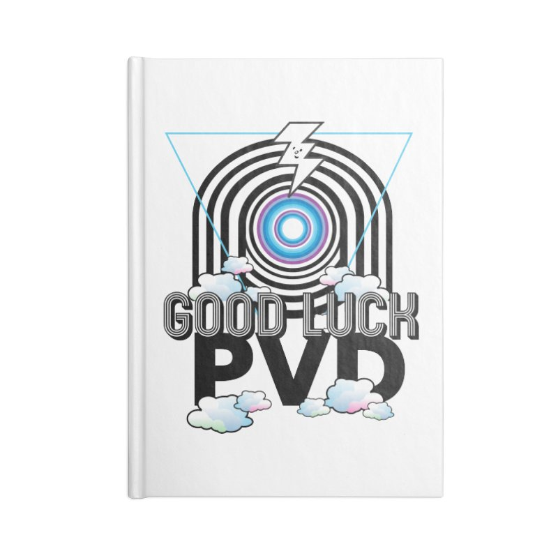 Good Luck PVD Accessories Notebook by Vinnie Ray's Apparel Shop
