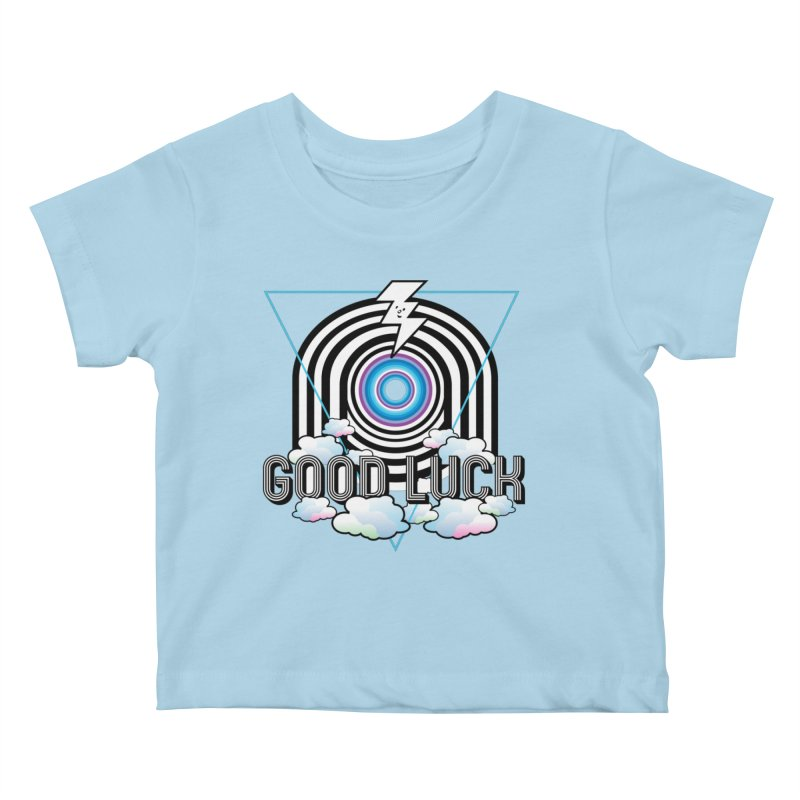 Good Luck Gateway Kids Baby T-Shirt by Vinnie Ray's Apparel Shop