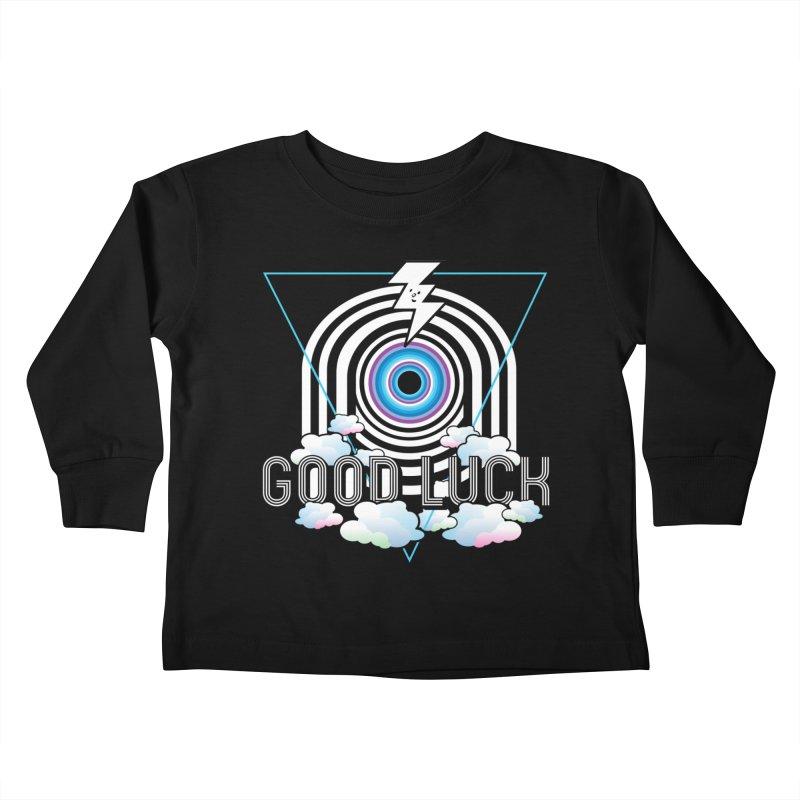 Good Luck Gateway Kids Toddler Longsleeve T-Shirt by Vinnie Ray's Apparel Shop
