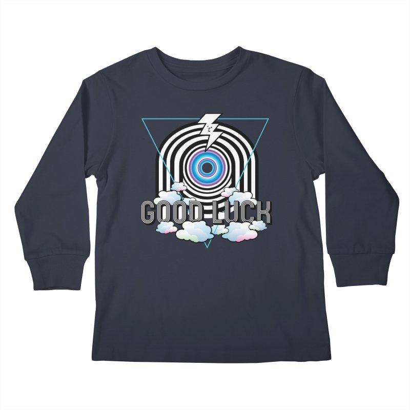Good Luck Gateway Kids Longsleeve T-Shirt by Vinnie Ray's Apparel Shop