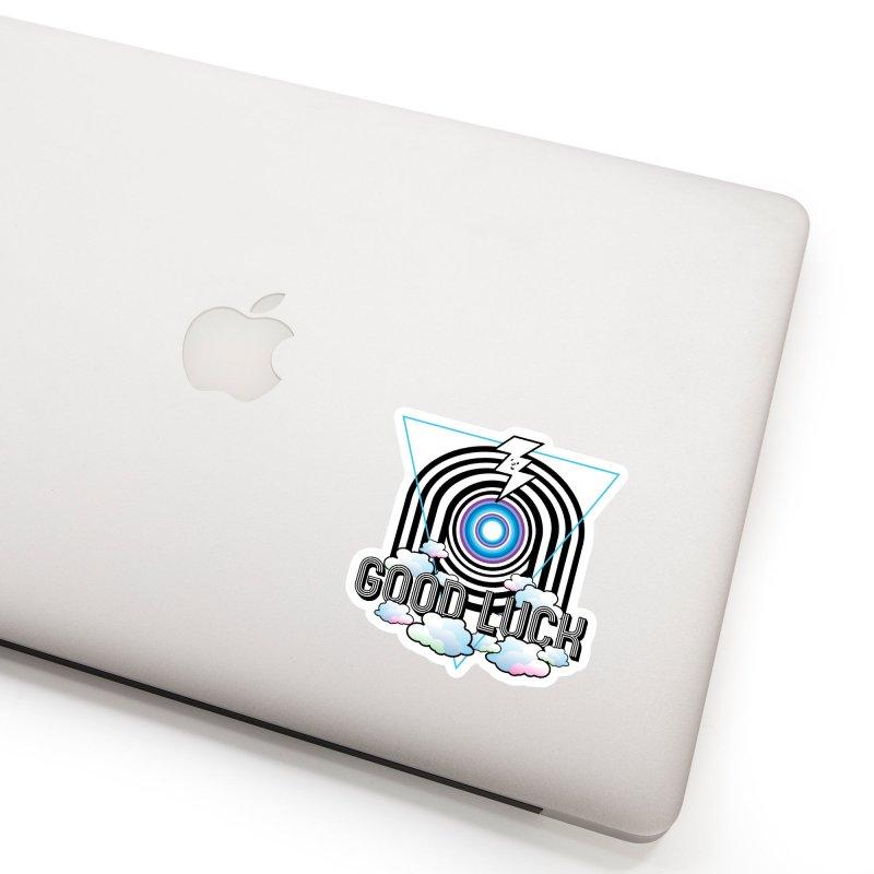Good Luck Gateway Accessories Sticker by Vinnie Ray's Apparel Shop