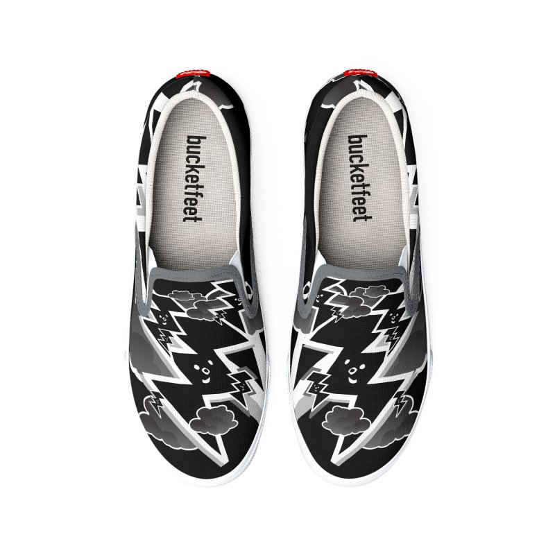 Good Luck: Lucky Shoes Black&White Women's Shoes by Vinnie Ray's Apparel Shop