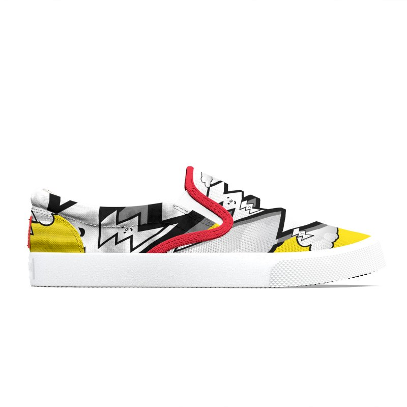 Good Luck: Lucky Shoes Yellow Women's Shoes by Vinnie Ray's Apparel Shop
