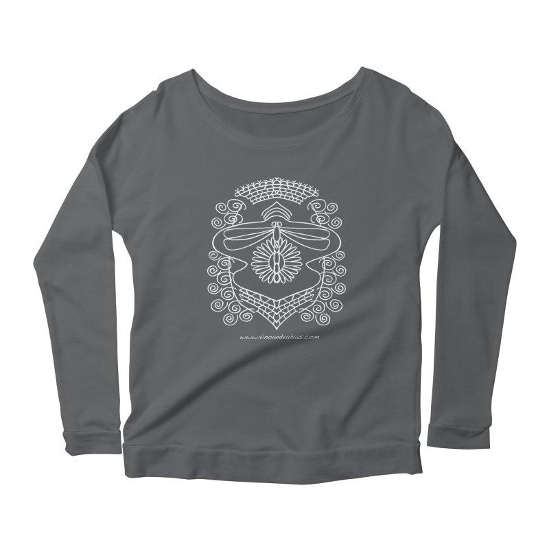 Dragonfly Vulva Women's Scoop Neck Longsleeve T-Shirt by Vino & Vulvas Artist Shop