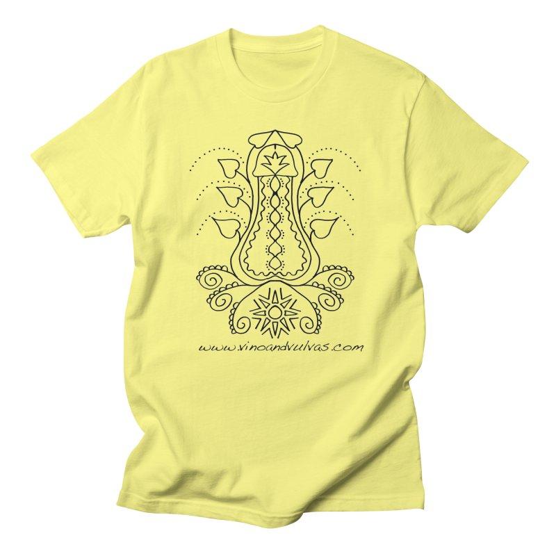 Goddess Cock Men's T-Shirt by Vino & Vulvas Artist Shop