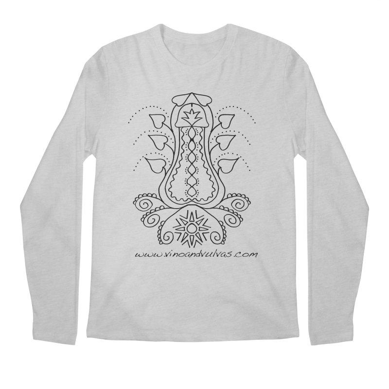Goddess Cock Men's Regular Longsleeve T-Shirt by Vino & Vulvas Artist Shop