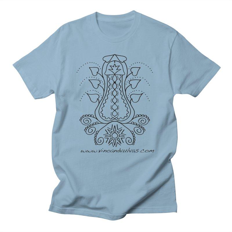 Goddess Cock Men's Regular T-Shirt by Vino & Vulvas Artist Shop