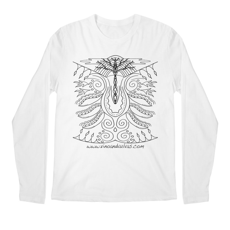 Eden Men's Longsleeve T-Shirt by Vino & Vulvas Artist Shop